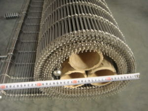 Architectural Woven Metal Wire Mesh Facades--Tec-Sieve Multi-Barrette Weave/Cable Mesh System pictures & photos