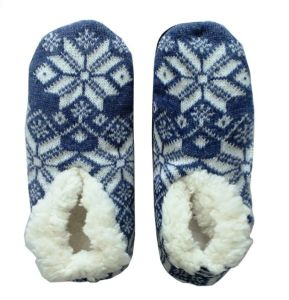 Snowflake Knitted Floor Shoe Socks for Spring Autumn and Winter pictures & photos
