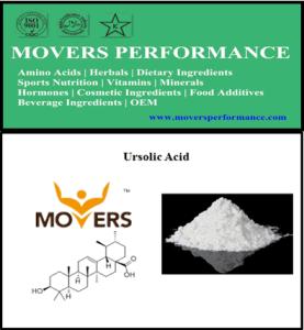 Ursolic Acid with CAS No.: 77-52-1 pictures & photos