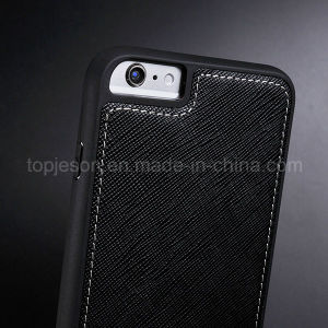 Full Coverage Genuine Leather Case for iPhone 6 Plus pictures & photos