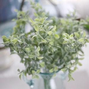 Plastic Leaves Aritificial Flower for Wedding/Home/Garden Decoration (SF16294A) pictures & photos