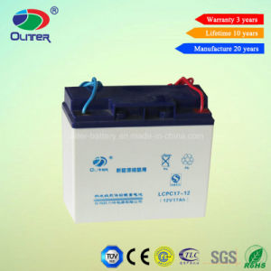 Oliter Deep Cycle 12V 17ah Gel Storage Battery with Tlc Adopted pictures & photos