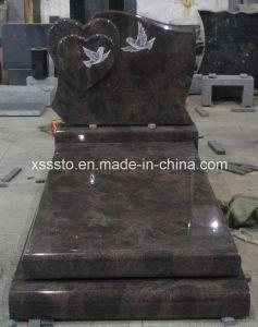 Paradiso Granite European Memorial Monument Gravestone for Cemetery pictures & photos