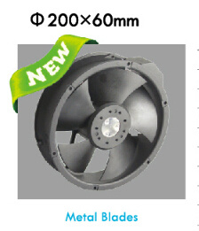Hot Panel 200mm Axial Flow Fan (FL22060) pictures & photos