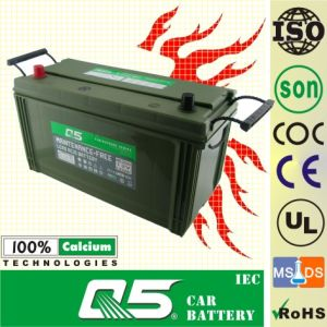 JIS-NS120L 12V120AH Maintenance Free Car Battery (Military Equipment) pictures & photos