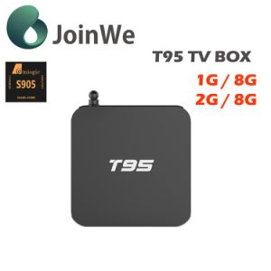 Kodi 16.0 Android 5.1 1g8g Amlogic S905 TV Box T95 pictures & photos