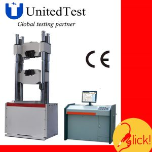 Universal Testing Machine (WAW-D 6 Column PC Controlled Hydraulic Servo) pictures & photos