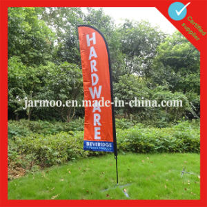 Advertising Bow Flag Feather Banner pictures & photos