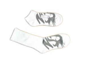 Fashion Men Women Sports Socks with Black Cotton (fss-05) pictures & photos
