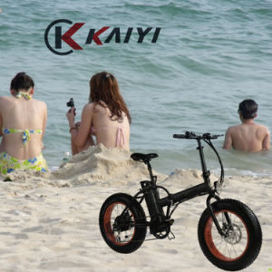 "20"" Wheel Fat E Bike for Beach Use"