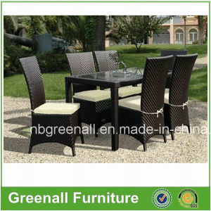 Leisure Patio Outdoor Rattan Garden Furniture Table Chair Set pictures & photos