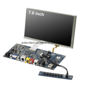 SKD LED 7 Inch VGA Monitor with 4-Wire Resistive Touch pictures & photos