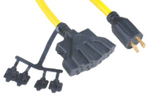 UL AC Power Cord for Use in North American 103-520-B pictures & photos