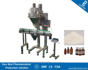 Semi Automatic Talcum Powder Filling Machine with Single Head Auger pictures & photos