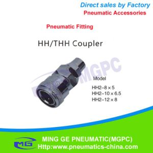 Direct Way Pneumatic Fitting / Coupler (HH2-10*6.5) pictures & photos