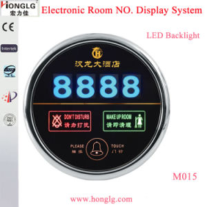 Intelligent Room No. Display Dnd Hotel Doorbell pictures & photos