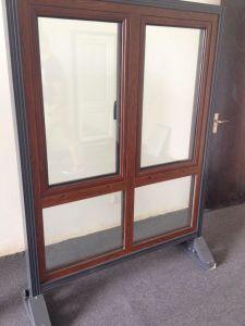 Double Panels Outwardds Opening Aluminum Casement Window pictures & photos