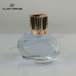 Irregular Elegant Luxury Transparent Glass Bottle for Perfume