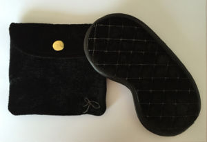 Black Eye Mask with Bag Purse Eye Pillow pictures & photos
