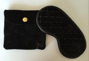 Black Storage Bag Purse Eye Mask Travel Set pictures & photos