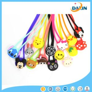 Multi Style Cartoon Durable Silicone Hang Rope pictures & photos