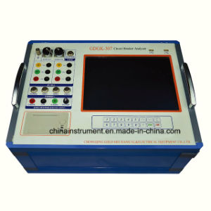 Automatic IEC62271 12 Channels Circuit Breaker Mechanical Characteristics Analyzer pictures & photos