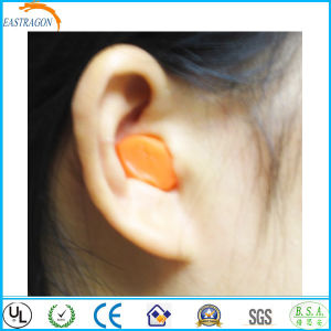 Custom Bell Shape PU Foam Earplugs for Sleeping pictures & photos