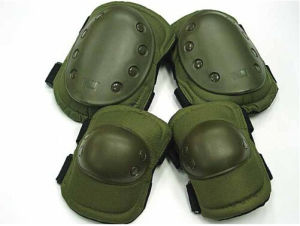 2016 Factory Price Best Quality Green Military Tactical Knee and Elbow Protective Guard for Self Defense Police and Military pictures & photos