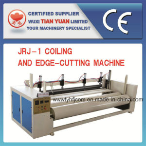 Automatic Polyester Wadding Cutting and Reeling Machine pictures & photos