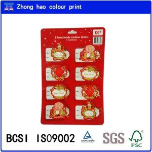 Pop up /Message/8 Handmade Cadeau Labels with 4 Motieven (150602005)