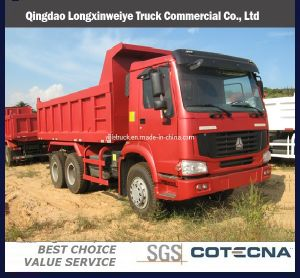 Sinotruk HOWO 6x4 30t 375HP Tipper Truck pictures & photos
