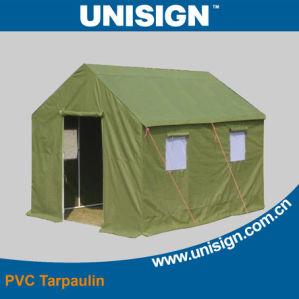 Waterproof Flame Retardent Tent Material/PVC Tent Tarpaulin pictures & photos