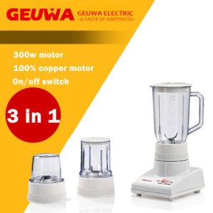 Geuwa Food Processor for Home Use 3 in 1 pictures & photos