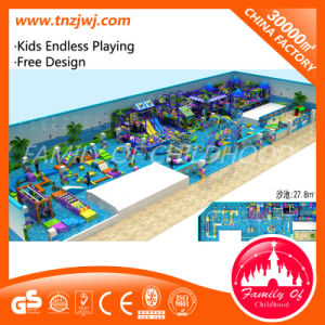 Naughty Castle Roller Slide Indoor Soft Playground pictures & photos