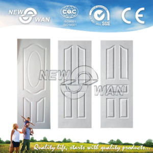 3mm White Primed White Coated HDF Door Skin (NWD-1121) pictures & photos
