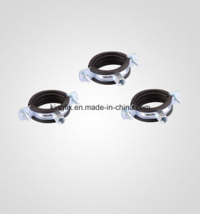 Pipe Clamp with Rubber&M8+10 Nut pictures & photos