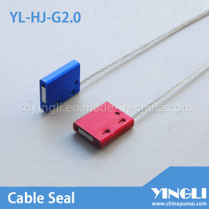 Tamper Evident Disposable Cable Seal with Laser Printing pictures & photos