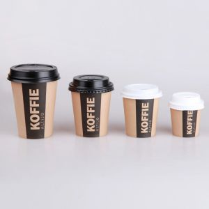 12oz PE Coated Kraft Paper Cup Food Grade / Brown Kraft Paper Cup pictures & photos