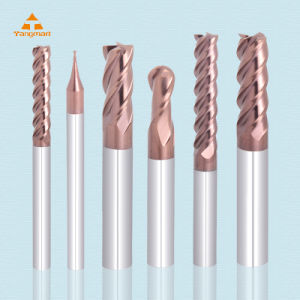 Solid Carbide End Mill / Ball Nose End Mill for HRC 55 Degree