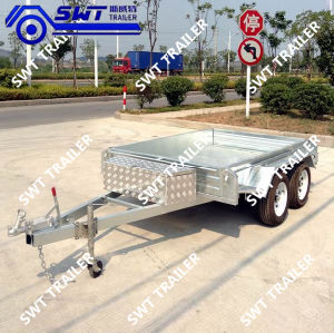 Side Fuel Tanker Trailer From Factory (SWT-TT85) pictures & photos
