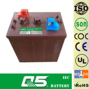 6V185AH (WPST-105) , Deep Cycle Golf Cart Battery pictures & photos