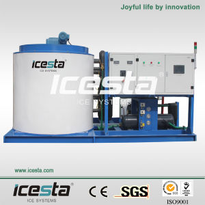 15ton/Hr Industrial Water-Cooled Flake Ice Maker pictures & photos