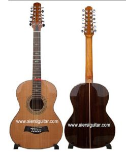 39 Inch Size Solid Cedar 12-String Acoustic Guitar (SC-120T) pictures & photos
