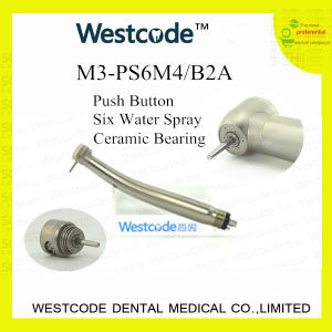 M3-PS6m4/B2a NSK Pana-Max Plus 6 Holes Push Button Dental High Speed Handpiece