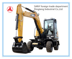 ODM/OEM Sany MIDI Wheel Excavator Sy65W-10 Professional Supplier in China pictures & photos