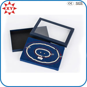 Fashion Custom Transparent Pearl Necklace Box pictures & photos