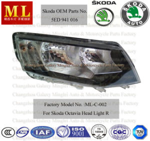 Auto Parts Headlight for Skoda Octavia From 2012 (5E1941018) pictures & photos