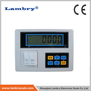 9918 Weight Indicator with Label Printer for Platform Scale