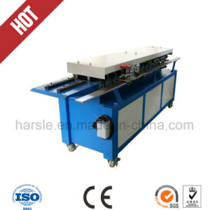 Tdf Flange Forming machine for Air Duct Flange Corner pictures & photos