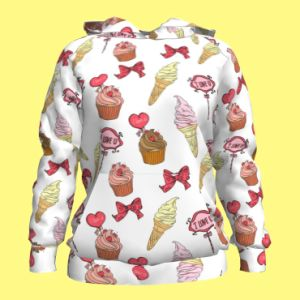 Lovely, Custom Design Women′s Hoodies pictures & photos